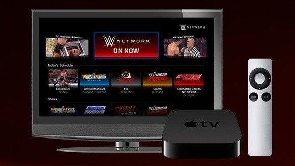 apple tv channel wwe