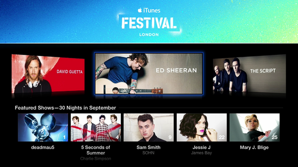 appletv itunesfestival