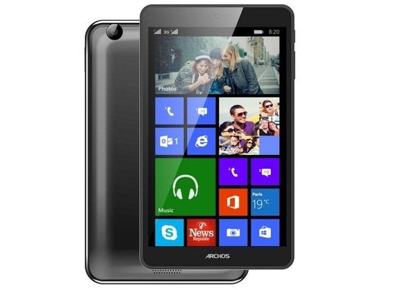 archos preps 149 windows tablet new windows phone pcworld. Black Bedroom Furniture Sets. Home Design Ideas