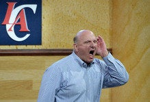 Steve Ballmer might be dipping his toes back into tech