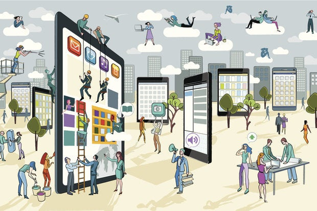 byod mobile tablets smartphones users devices