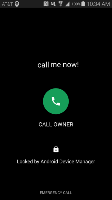 call owner