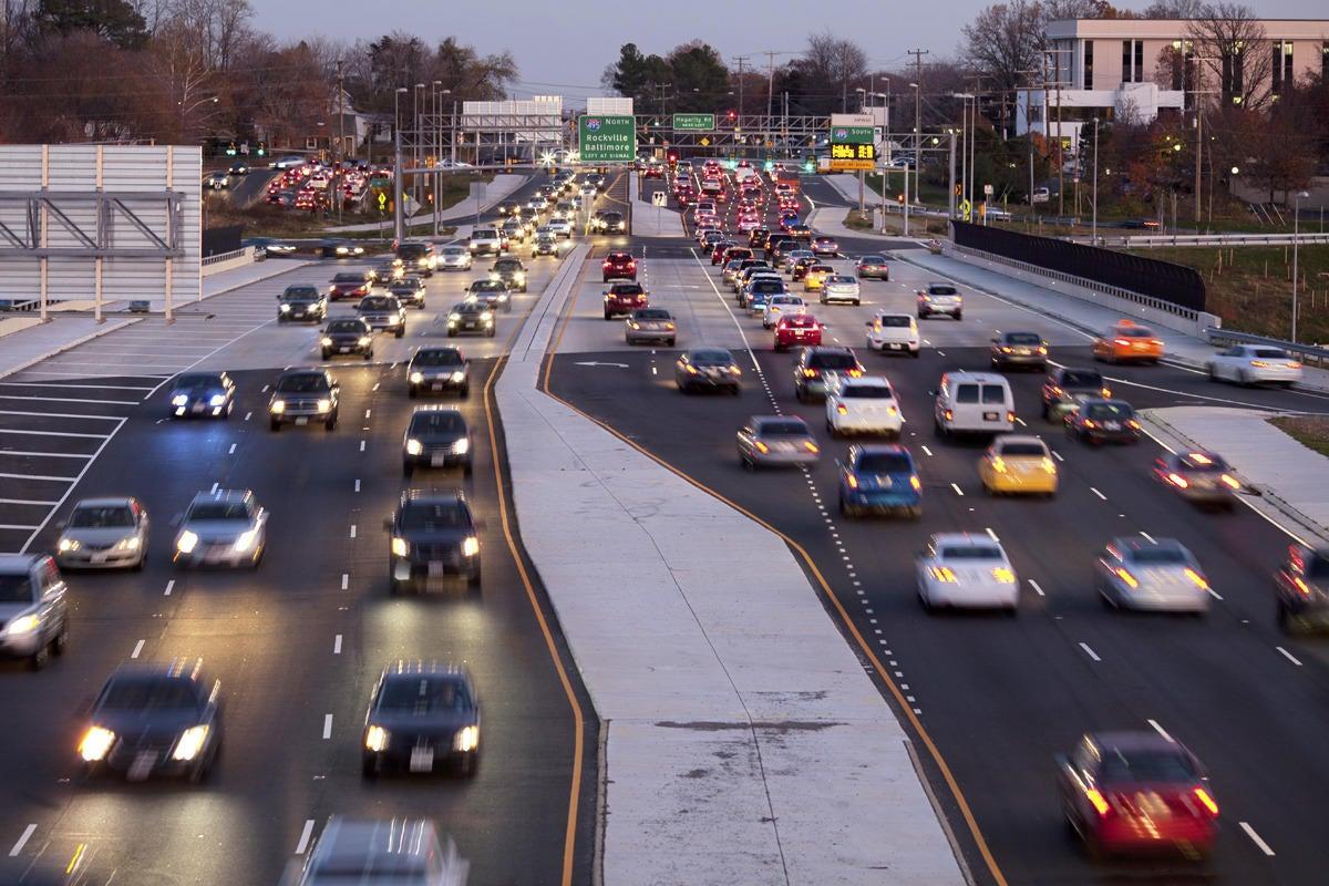 car traffic stockphoto