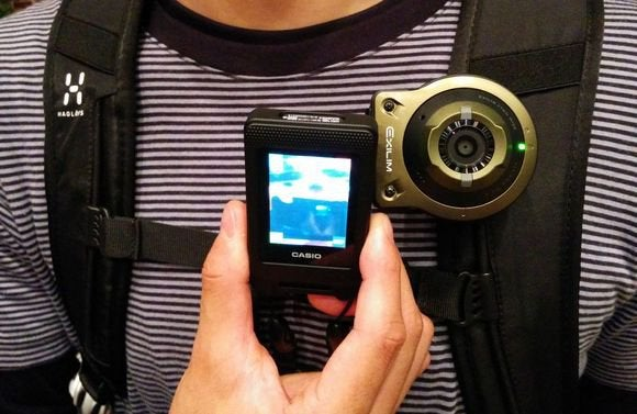 casio wearable camera