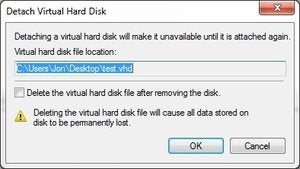 How to use virtual hard drives (VHDs) to back up your data