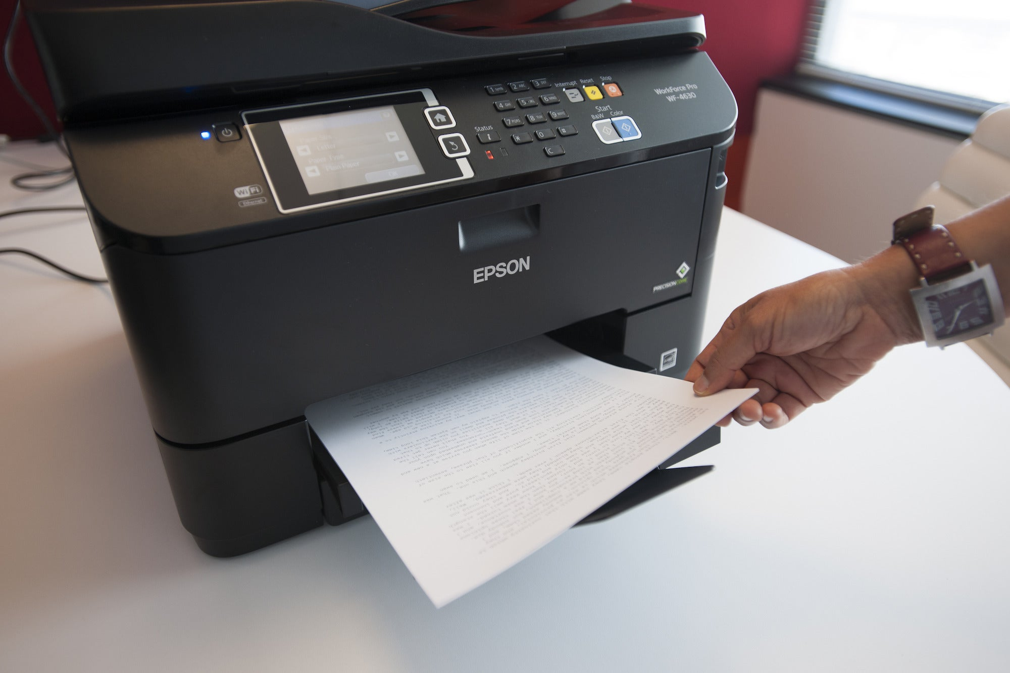 Epson Workforce Pro Wf 4630 Review For 300 Small Office