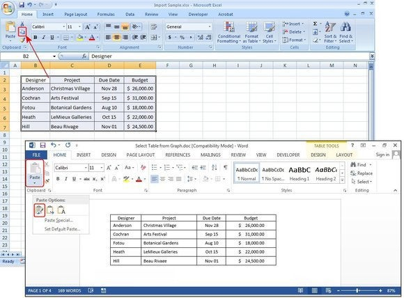f5 copy paste excel spreadsheet