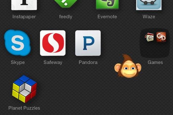fire phone slider app grid