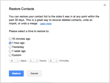 google contacts 2