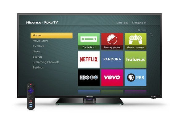 hisense roku tv with remote