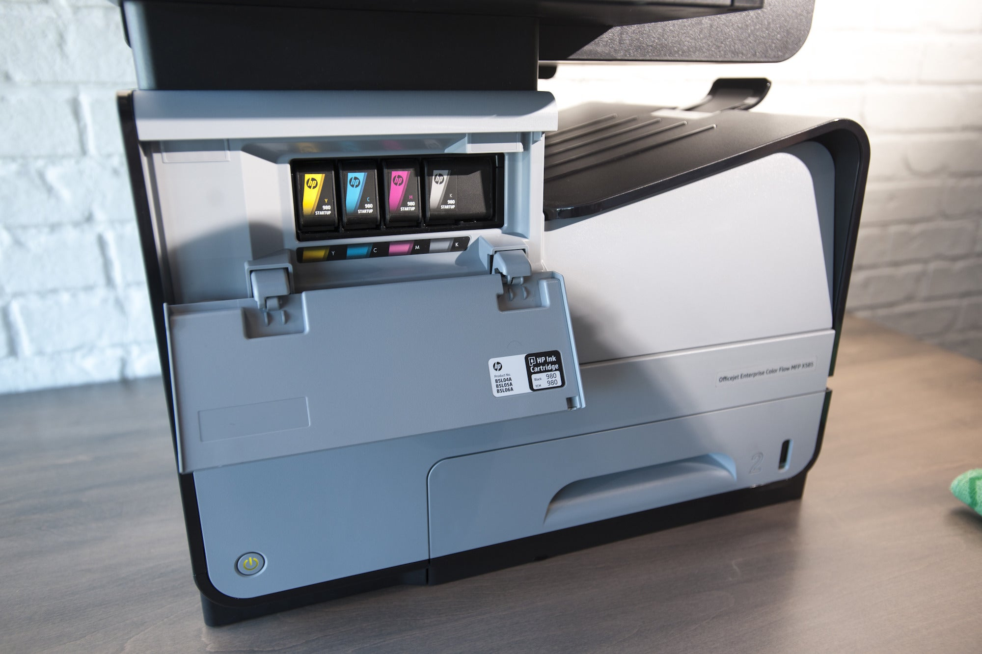 hp officejet enterprise color flow x585z multifunction printer review