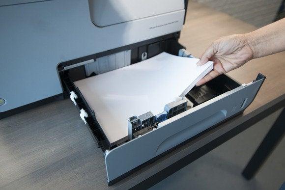 hp officejet pro x585 input tray