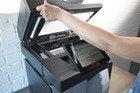 hp officejet pro x585 scanner lid