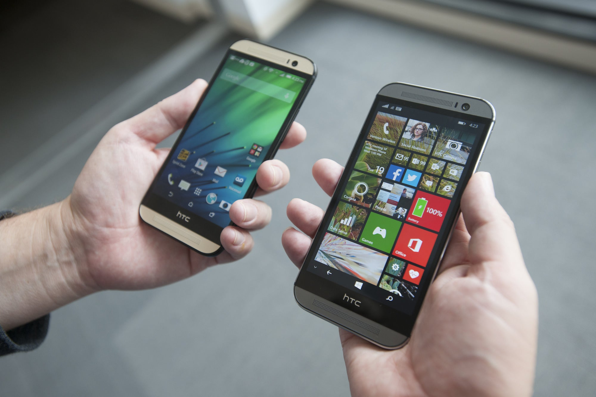 all htc phones for verizon. htc claims the one (m8) for windows delivers 10 percent more talk time than android | pcworld all htc phones verizon