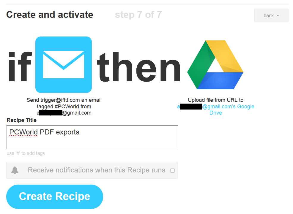 Office for iPad: Export a PDF from Word with IFTTT | PCWorld