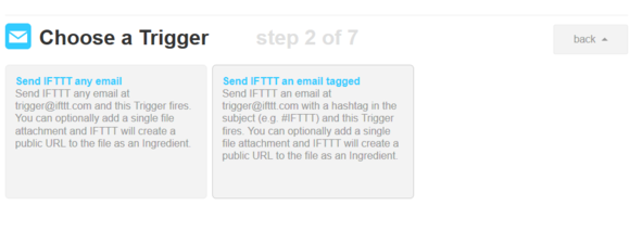 ifttt email trigger