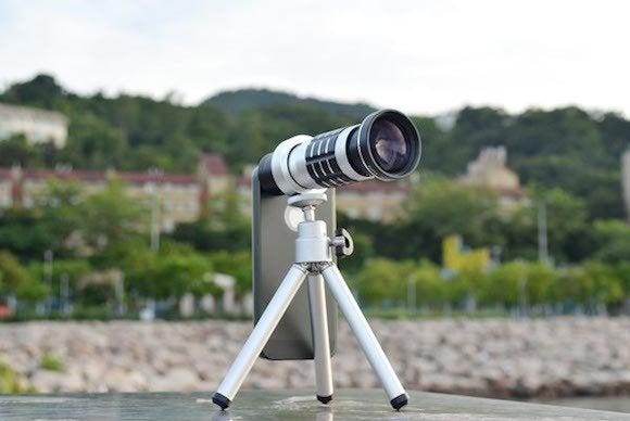 iphone 5s 12x 24x zoom telephoto lens