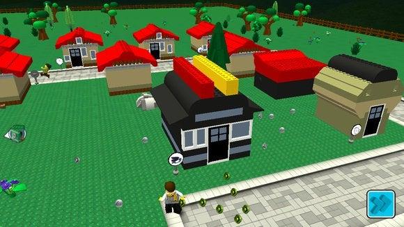 lego fusion town