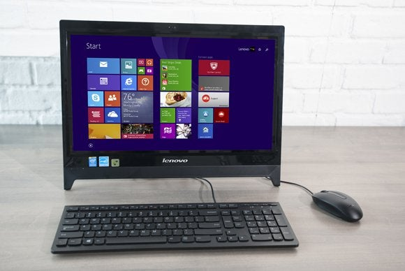 Lenovo's C260 all-in-one costs less than $500. And performs like it.