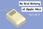 Comic: A history of Apple mice, part one