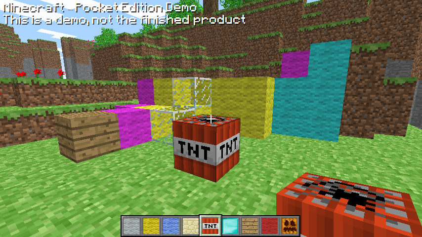 When Minecraft: Pocket Edition first started, it was a much smaller and  less refined experience than the one available today.
