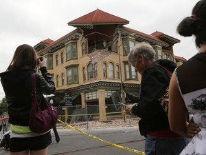 napa quake aftermath