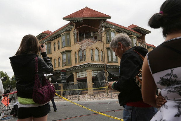 napa quake aftermath