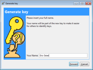 pgp create key1 of 3