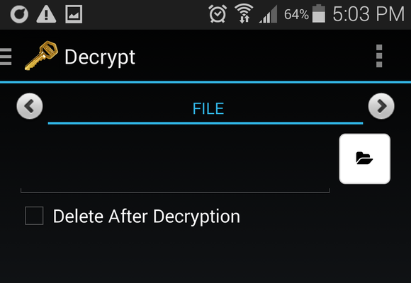 pgp decrypt android 4