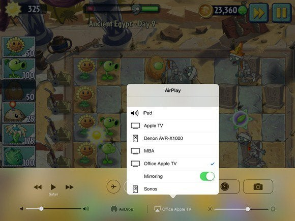 plant zombies airplay