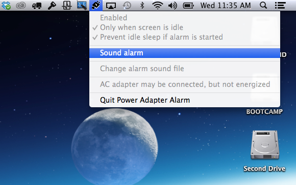 Power Adapter Alarm