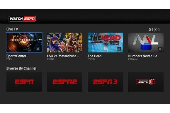 roku watchespn