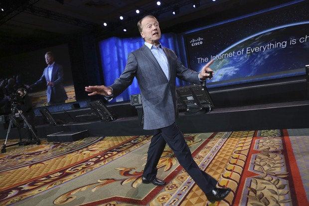 Cisco CEO John Chambers retiring