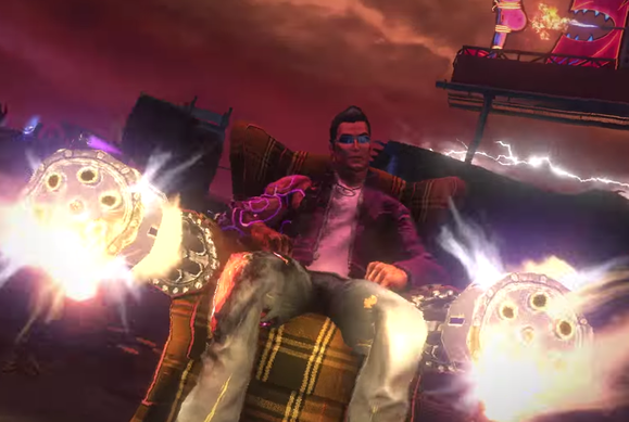 saints row gat out of hell gatling chair