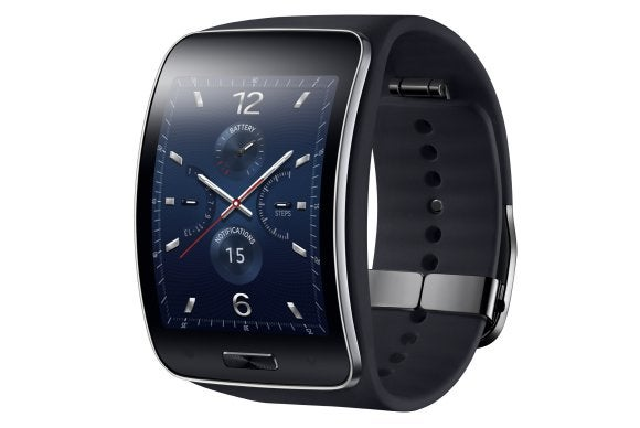 Samsung outs the Gear S, a curved Tizen smartwatch that ...
