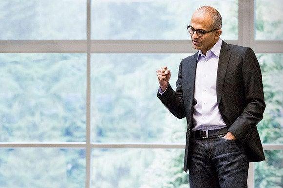 Satya Nadella, CEO at Microsoft.