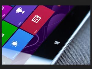 screen shot of Windows 9