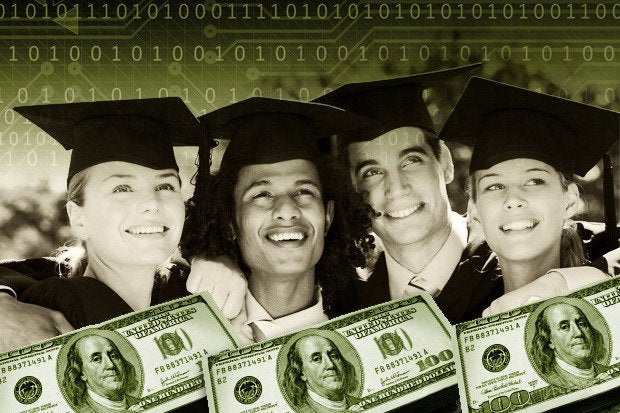 starting salaries for college technology majors