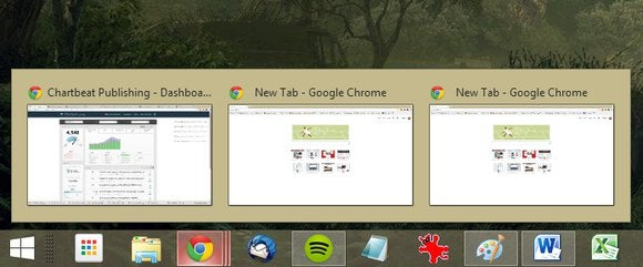 taskbar open multiple instances