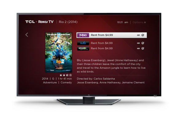 tcl roku tv front with search aug2014