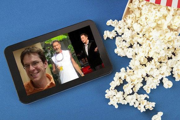 tech movies open