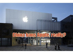these chinese government bans apple product claims