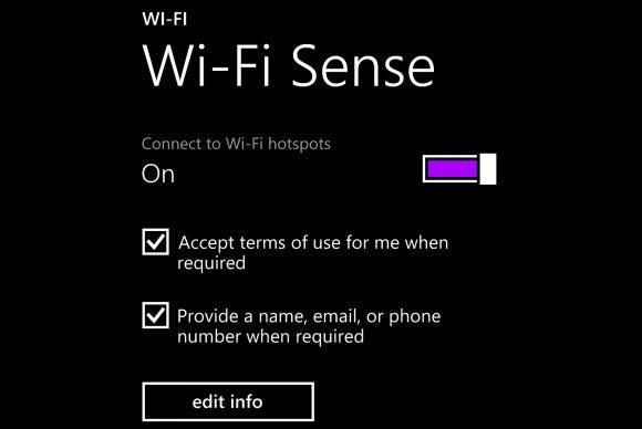 wi fi sense