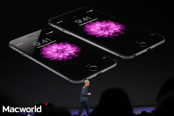 Tim Cook introduces the iPhone 6