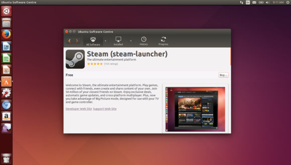 1 ubuntu software center is a desktop app store