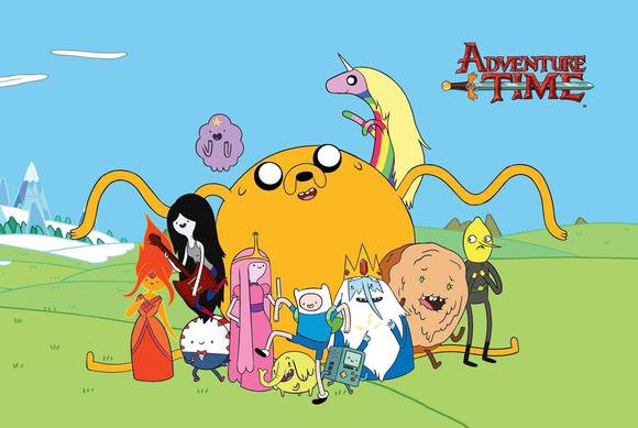 adventure time computer wallpaper
