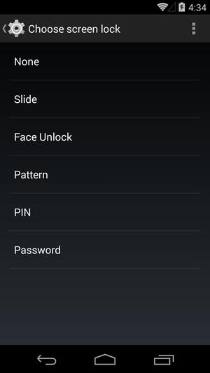 android screenlock