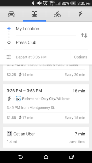 android transit