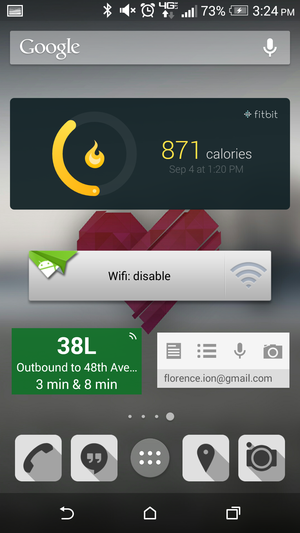 android widgets