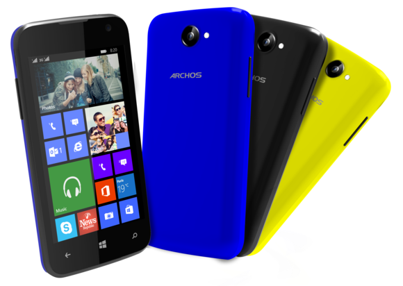 archos windows phones Cesium 40
